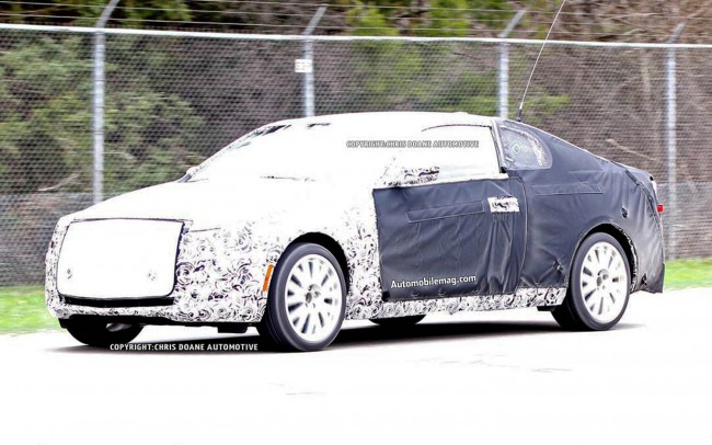 Cadillac-ATS-Coupe-spy-shot-left-front-1