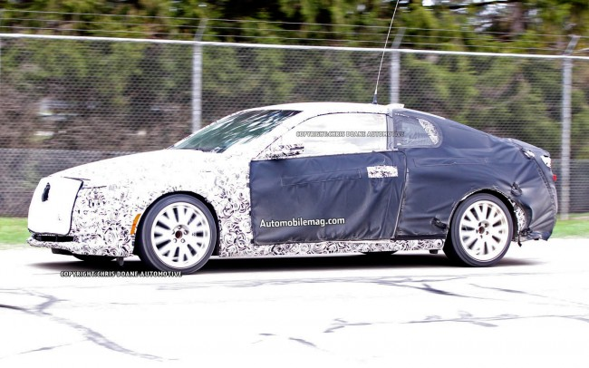 Cadillac-ATS-Coupe-spy-shot-left-front-2