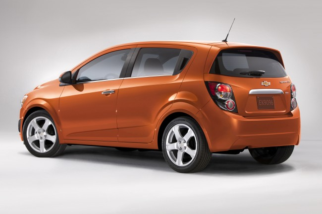 2014 Chevrolet Sonic hatchback