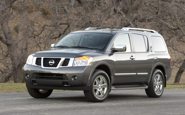 2012-Nissan-Armada-front-three-quarter-static