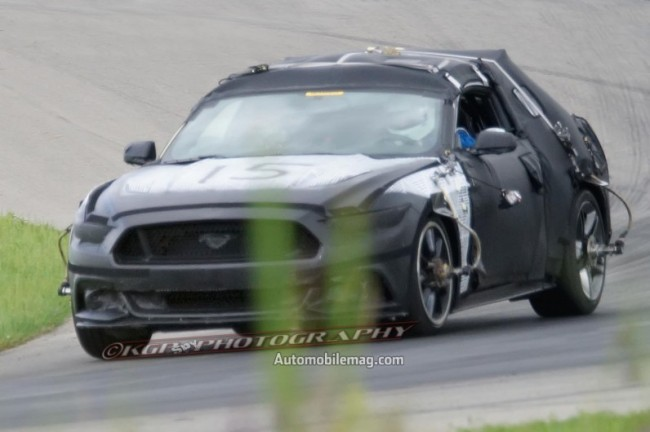 2015-Ford-Mustang-undisguised-prototype-front-three-quarters-view-2-796x530