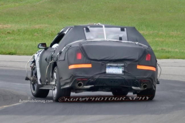 2015-Ford-Mustang-undisguised-prototype-rear-view-796x530