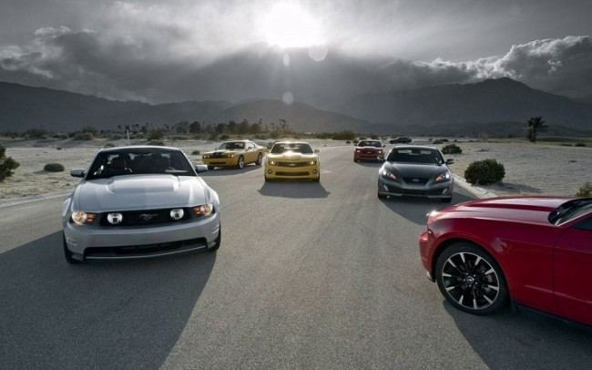 pony-car-group-photo