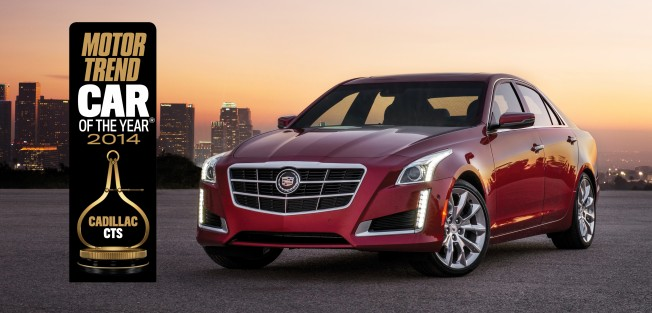 2014 Cadillac CTS Wins Motor Trend Car of the Year Award