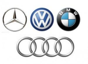 Mercedes-Audi-BMW-VW-emblems