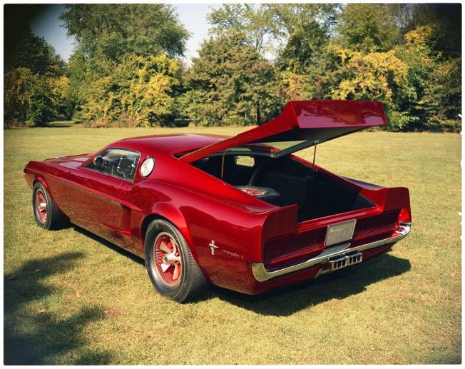 Ford Mustangs That Never Were: 1966 Mach 1 concept