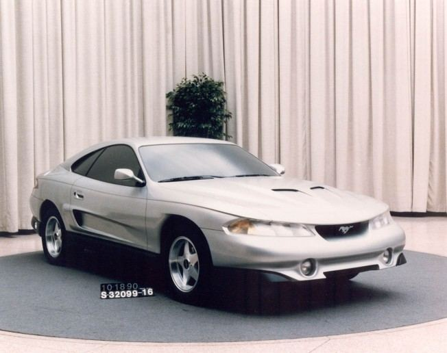 """Ford Mustangs That Never Were: """"Rambo"""" design study for four"""