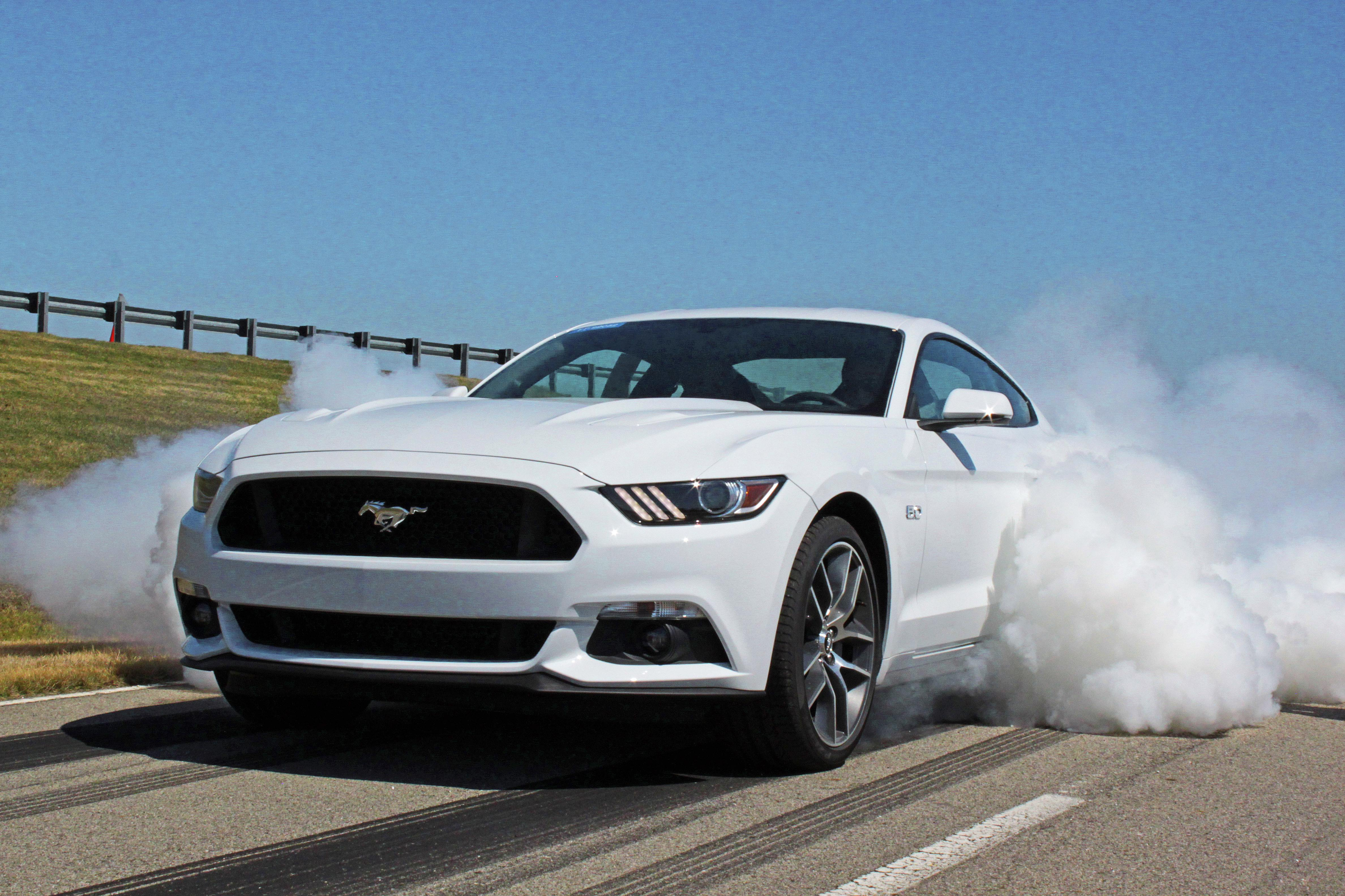 Ford Mustang GT electronic line-lock