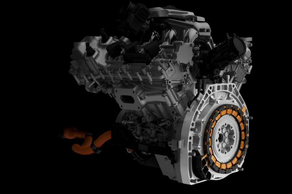 2017 Acura NSX - Rear Direct-Drive Motor & Engine Slice.