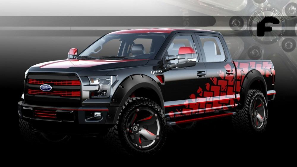 Ford F-150 for SEMA 1
