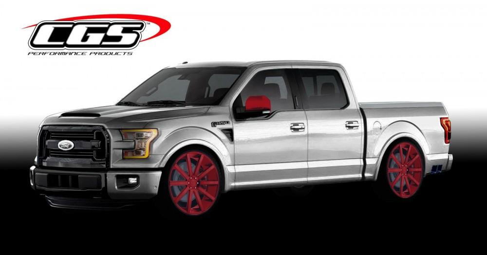 Ford F-150 for SEMA 5