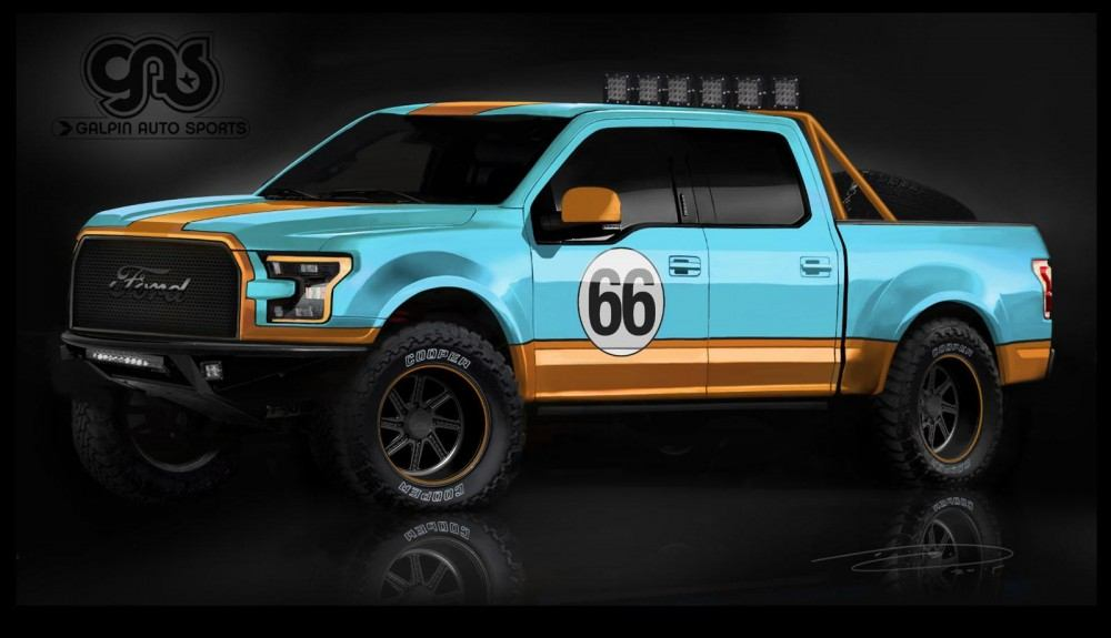 Ford F-150 for SEMA 7