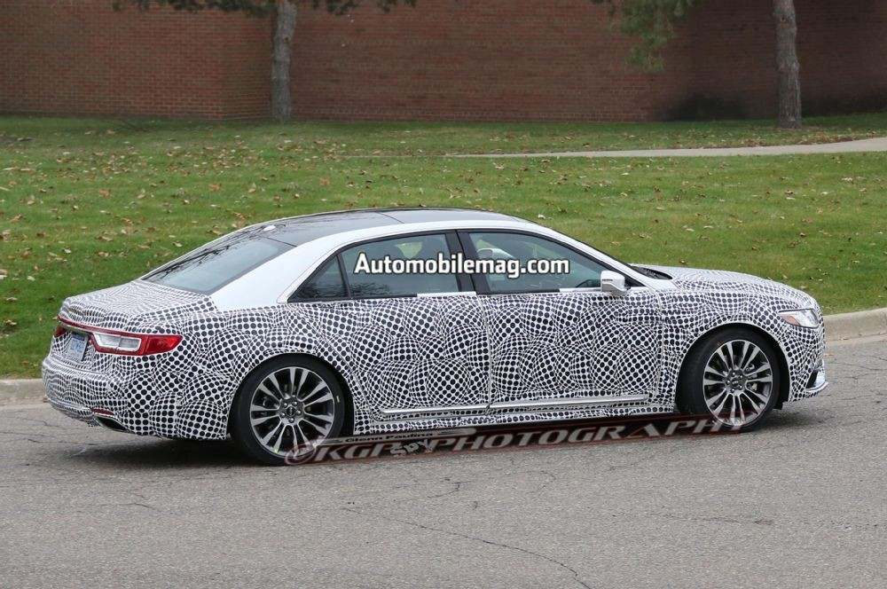lincoln-continental-spyshot-side-profile