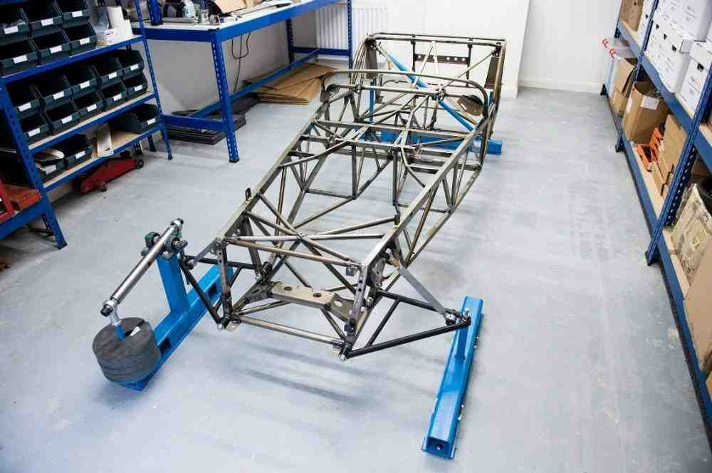 Caterham-Seven-butted-tube-chassis-prototype-1