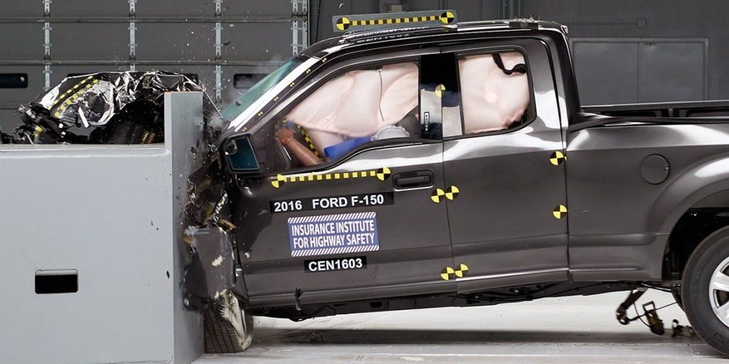 Ford F-150 IIHS rating