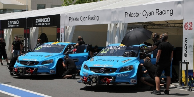 Back into the points for Polestar Cyan Racing in Vila Real street races